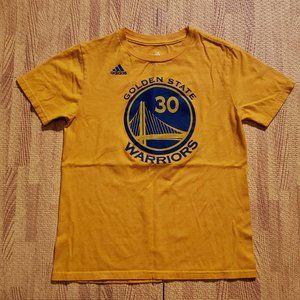 Golden State Warriors Steph Curry Shirt Boys S/M